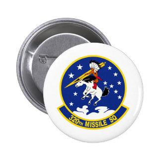320th Missile Squadron Pinback Button
