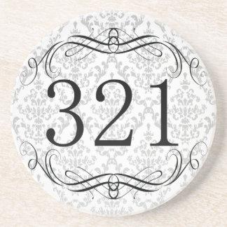 321 Area Code Beverage Coasters