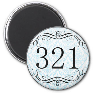 321 Area Code Magnets