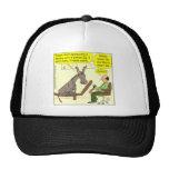 321 donkey genius smart a$$ color cartoon mesh hats