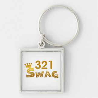 321 Florida Swag Keychain