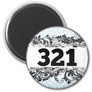321 REFRIGERATOR MAGNETS