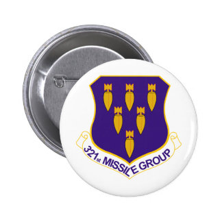 321st Missile Group Pinback Button