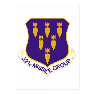321st Missile Group Postcard