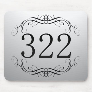 322 Area Code Mouse Pad