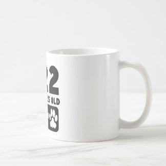 322 Dog Years Old Classic White Coffee Mug