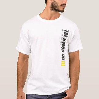 323-3 3ro camisa del Taekwondo de la correa de Dan
