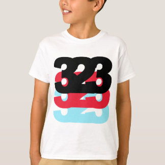 323 Area Code T-Shirt