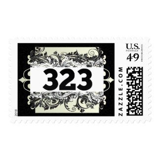 323 POSTAGE STAMPS