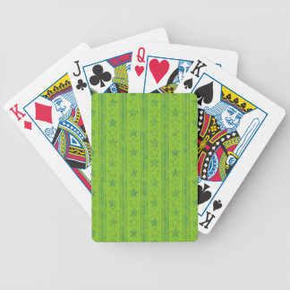 324_summer-school-boys-paper GREEN STARS STRIPES P Playing Cards