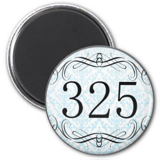 325 Area Code Refrigerator Magnets