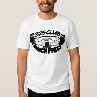 325 Club Bench Press Basic T Shirt
