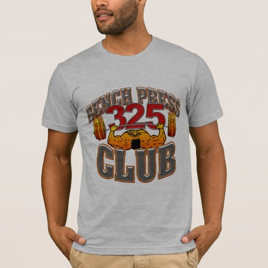 325 Club Bench Press Fitted T Shirt