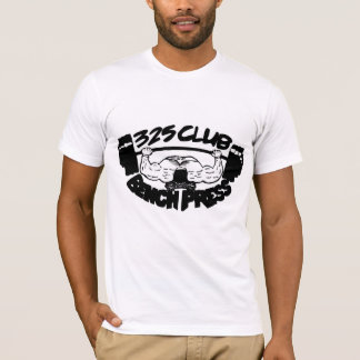 325 Club Bench Press Fitted T-Shirt