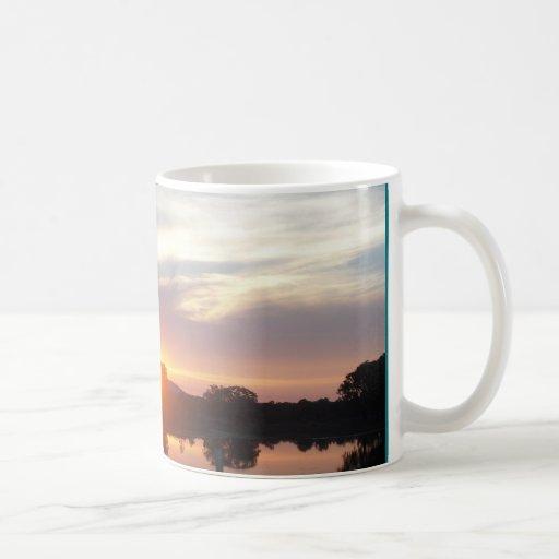 325 ml Classic White Mug with sunset