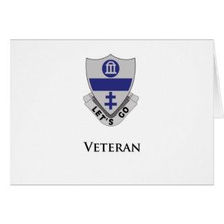 325- Veterano Tarjeta De Felicitación