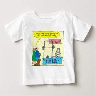 325 weight lifting and getting older color cartoon shirts