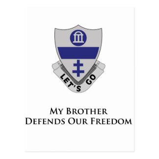 325o PIR- mi Brother defiende nuestra libertad Postales