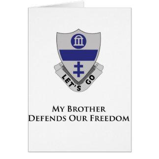 325o PIR- mi Brother defiende nuestra libertad Tarjeta De Felicitación