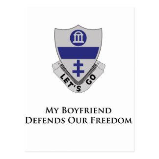 325o PIR- mi novio defiende nuestra libertad Postal