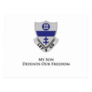 325o Regimiento de infantería del paracaídas Postales