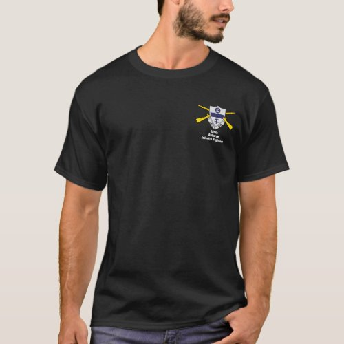 325th Airborne Infantry Regiment dark t_shirt