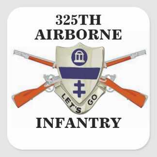325TH AIRBORNE INFANTRY STICKERS