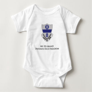 325th Parachute Infantry Regiment Baby Bodysuit