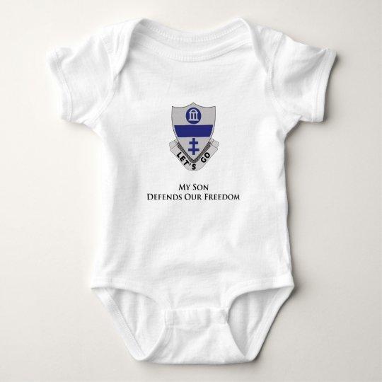 325th Parachute Infantry Regiment Baby Bodysuit