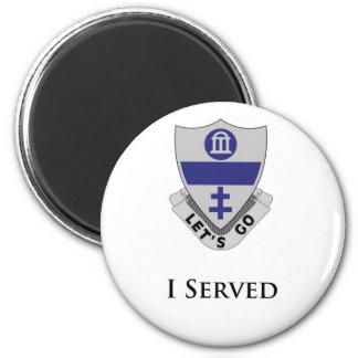 325th PIR- I Served 2 Inch Round Magnet