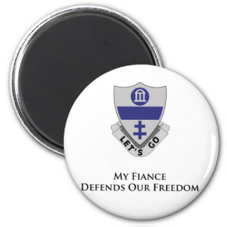 325th PIR- My Fiance Defends Our Freedom Fridge Magnet