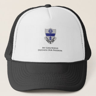 325th PIR- My girlfriend Defends Our Freedom Trucker Hat