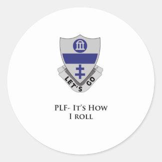 325th PIR- PLF- It's How I Roll Sticker