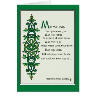 3268 mayo el rezo del camino tarjeta de felicitación