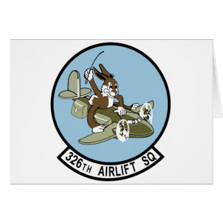 326th Airlift Squadron Card