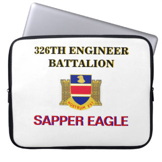 326TH ENGINEER BATTALION LAPTOP SLEEVE