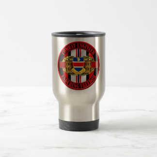 326th Engineer Battalion OEF Afghanistan Travel Mug
