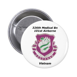 326thMed_mwpatch 2 Inch Round Button
