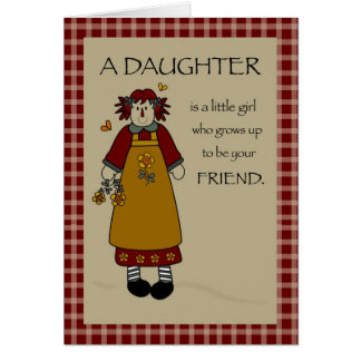 3275 Birthday Daughter Annie, Country Cards