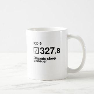 327.8, Organic sleep disorder Classic White Coffee Mug