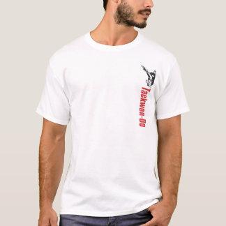 328-2 Small Front Design Taekwon-Do Shirt
