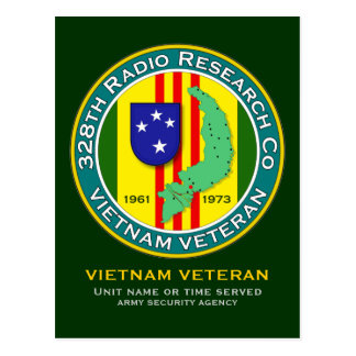 328th RRC - ASA Vietnam Postcard