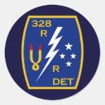 328th RRD 3 Round Sticker