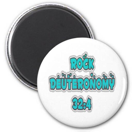 32:4 de Deuteronomy de la roca Imán De Frigorifico