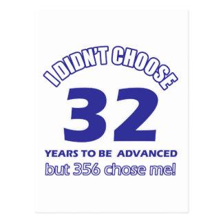 32 años de adelanto postal