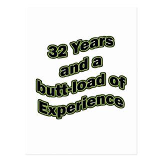 32 butt-load postcard
