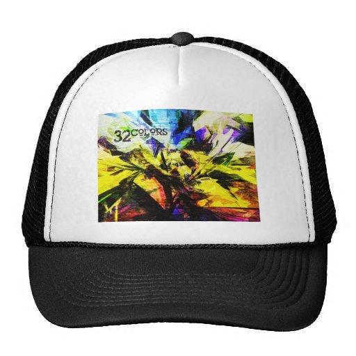 32 Colors Mesh Hat