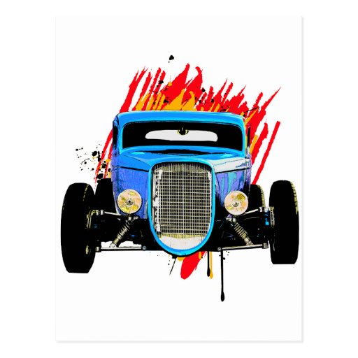 '32 Coupe comin' at you Post Cards