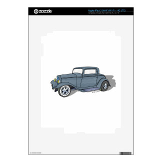32 Ford 3 Window Deuce Coupe iPad 3 Skins