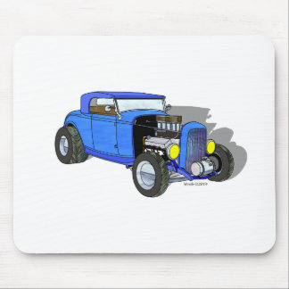 32 Ford HiBoy Roadster – Blue Mouse Pad